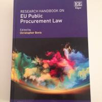 Research Handbook on EU Public Procurement Law published